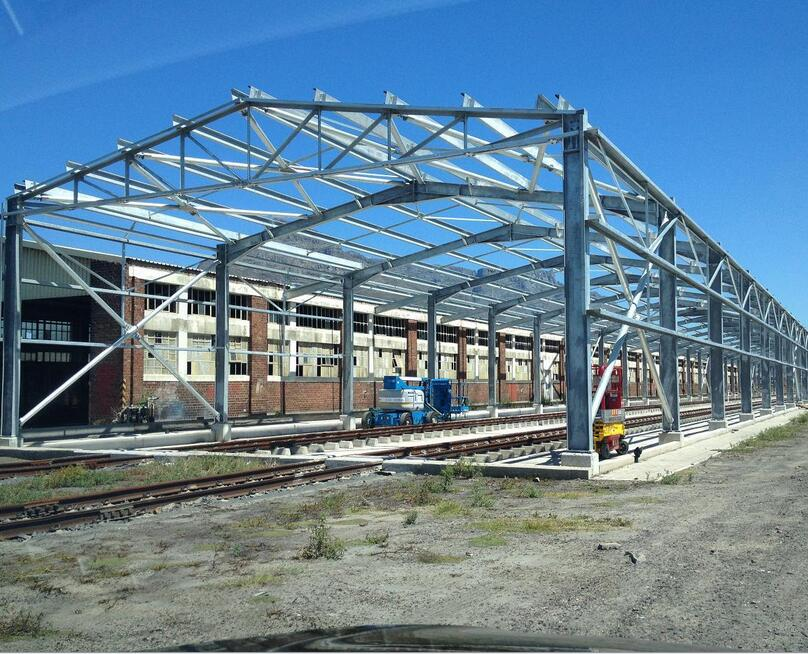 The main note in process of steel structure