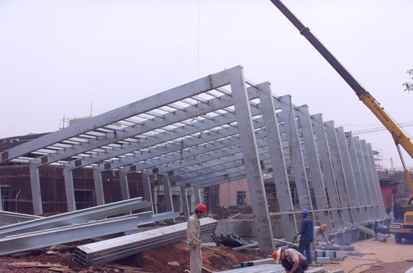 Safety control measures of steel structure installation