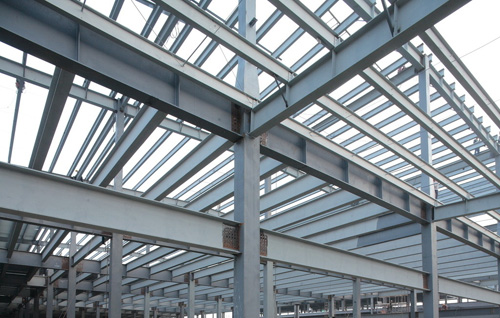 How steel structure parts connected