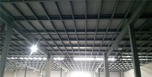 Construction method of steel frame partition