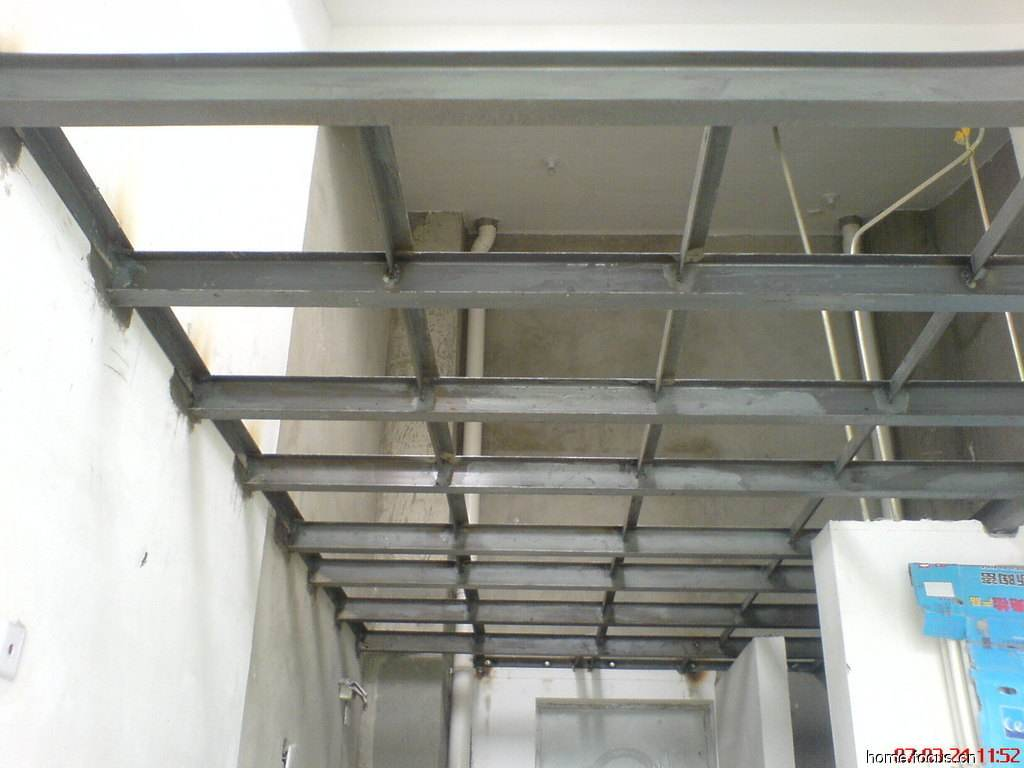 Steel loft fabrication