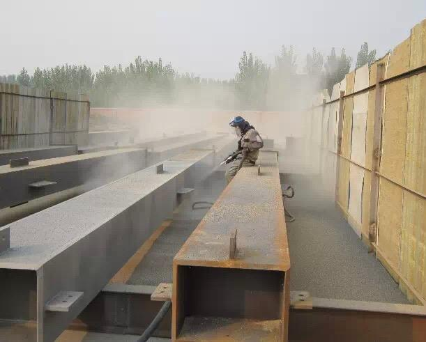 Coating construction technology of steel structure